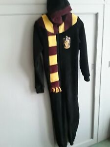 Harry Potter  hooded one piece - size 13/14 yrs.  Preowned