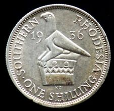 1 SHILLING 1936 RHODESIE DU SUD / SOUTHERN RHODESIA (argent / silver)