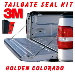 TAILGATE SEAL KIT FOR HOLDEN COLORADO UTE RUBBER DUST TAIL GATE 2012 to 2018