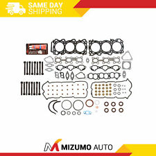 Full Gasket Set Head Bolts Fit 96-99 Infiniti I30 Nissan Maxima 3.0L Vq30De