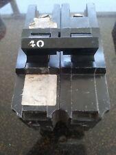 Challenger Zinsco Electrical Circuit Breakers Hasr Type- 2 Pole 40 Amp
