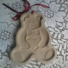 Pampered Chef ~ Teddy Bear ~ Cookie Shortbread Mold ~ 1991