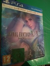 Final Fantasy X/X-2 HD Remaster Steelbook Europe Exclusive PlayStation 4 SEALED