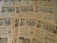 Masonic Constellation Freemasonry Antique Newspaper Knights Templar Mason 1902
