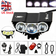 SolarStorm X3 T6 6000lm Mountain Cycle Bicycle Light Bike Front Lamp Torch UK