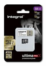 Fast 32 GB microSDHC Clase 10 UHS-I U3 95MB/s + Lector. Ideal 4K, Full HD de vídeo.