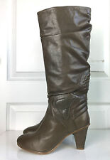 Diesel women's Chick high heel boots Bungee Cord color 8.5 M $380
