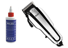 Wahl Clipper Oil 4oz and Wahl Icon Clipper