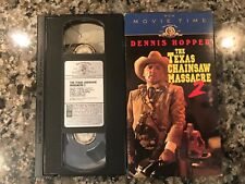 The Texas Chainsaw Massacre 2 Vhs! Awesome 1986 Slasher!