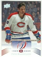 PETE MAHOVLICH 2008-09 Montreal Canadiens Centennial PARALLEL #88/100 Upper Deck
