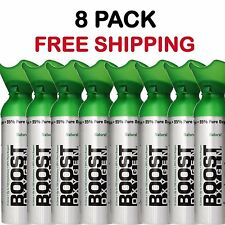 Oxygen Bar In A Can Boost Oxygen Therapy Energy 8 pack  22 oz Cans Free Shipping