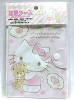 New!! SANRIO HELLO KITTY KAWAII Card & Notes Holder vinyl Transparent Pocket