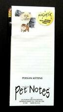 New listing Persian Kittens Magnetic Pad & Pencil Set