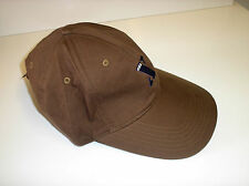 Lovely Cotton Kuda-X Brown Peaked Adjustable Baseball Cap Hat - One Size BNWT!