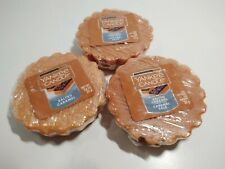 Yankee Candle 3 Salted Caramel scented Tarts Wax Melts ~ New