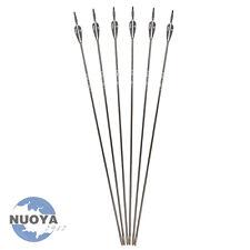 30Archery 6mm Fiberglass Arrows Plastic Fletching F Tips F Recurve Bow SP1200 X6