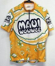 SUGOI MAUI WOWWEE WOMEN'S (M) CYCLING (3) POCKET POLYESTER JERSEY GRAPHIC PRINT