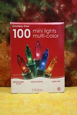 Holiday Time 100 Mini Lights Multi-Color [66-570M]