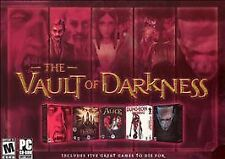 Vault of darkness 5 games  American mcgee alice Dungeon keeper2 Undying Dracular