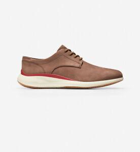 Men Cole Haan Grand Tory Plain Oxfords Suede Leather Shoes Chestnut C33762