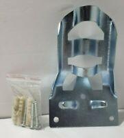 "Cast Aluminum Flag Pole Bracket 3//4/"" Pole Diameter Silver"