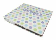 "JSP 140 Photos Slip In Photo Album 6""x4"" Quality Finish w/ Polka Dots Theme"