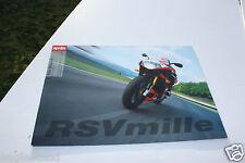 Motorcycle Brochure - Aprilia - Rsv Mille + R - c2001 - Os (Dc320)