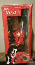 """Gemmy Dean Martin Animated Singing Figure Pop Culture 18"""" Box Red Scarf Bow Tie"""
