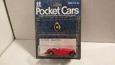 1979?  TOMY Pocket Cars  No. 140-F26  MORGAN PLUS 8 red  MIP  tomica