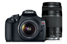 Canon Rebel T5 DSLR 18.0MP With EF-S 18-55mm + 75-300mm III + Tripad!