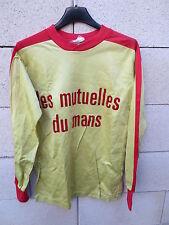 VINTAGE Maillot LE MANS ancien PUM tyrikot shirt années 80 rare collection 2x3 S
