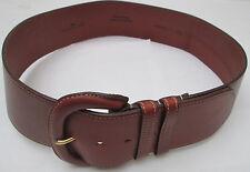 - AUTHENTIQUE  ceinture  CYRILLUS  cuir  TBEG  vintage
