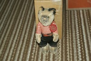 "Vintage Schuco Mohair Tricky Yes/No Cat  Made in US Zone Germany  9"" Tall"