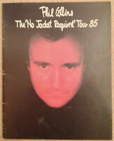 Phil Collins - No Jacket Required 1985 tour programme