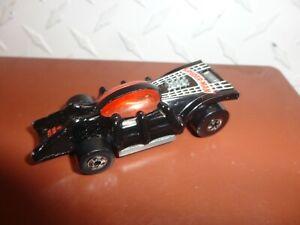 Loose Hot Wheels Black Spiderman Car w/Blackwalls