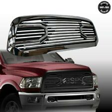 For 2010 2018 Dodge RAM 2500 3500 Gloss Black Front Hood Grille Big Horn Style