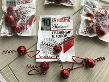 Fanatik Jig Heads Cheburashka RED (ШТОПОР ГРАНЁНЫЙ) 7-26gr