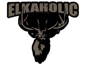 Elkaholic Version 2 (Bumper Sticker)