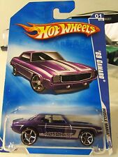 Hot Wheels '69 Camaro Muscle Mania Purple