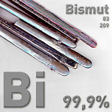 Bismuto Subcitrato metal 1 kilogramos cristales criar puramente Bismuth crystal kg bi 99