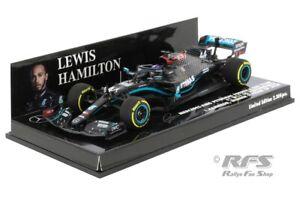 Mercedes AMG F1 W11 Hamilton Winner Formel 1 Steiermark 2020 1:43 Minichamps NEU