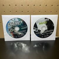 2 Game Lot-Call of Duty: Modern Warfare 3 & Black Ops-PS3 - DISCS ONLY - Tested