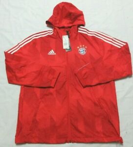 Adidas   FCB Bayern Munchen Soccer  Windbreak Men Jacket L