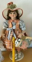 """The Prestige Collection Porcelain doll Adriane by Dollcrafter Kingstate 24""""!!!"""