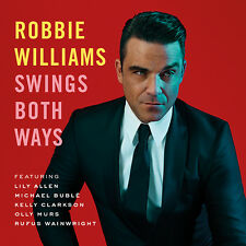 ROBBIE WILLIAMS SWINGS BOTH WAYS LTD EDITION 3 BONUS +  DVD