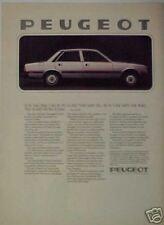 1980 Peugeot 505 Diesel Car Promo Trade Print Art AD