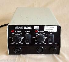 Genuine Hakko 928 Soldering Station, ESD Safe, 120 Volt
