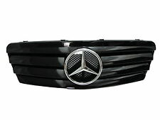 W208/C208/A208 1997-2002 GRILLE/GRILL 4FIN CHROME/BLACK for Mercedes-Benz