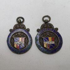 More details for birmingham & district amateur gymnastics association 1926 - 28 medal fobs x2