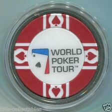 WORLD POKER TOUR WPT Card Guard Protector - Red